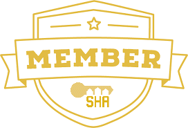 SHA Member shield logo